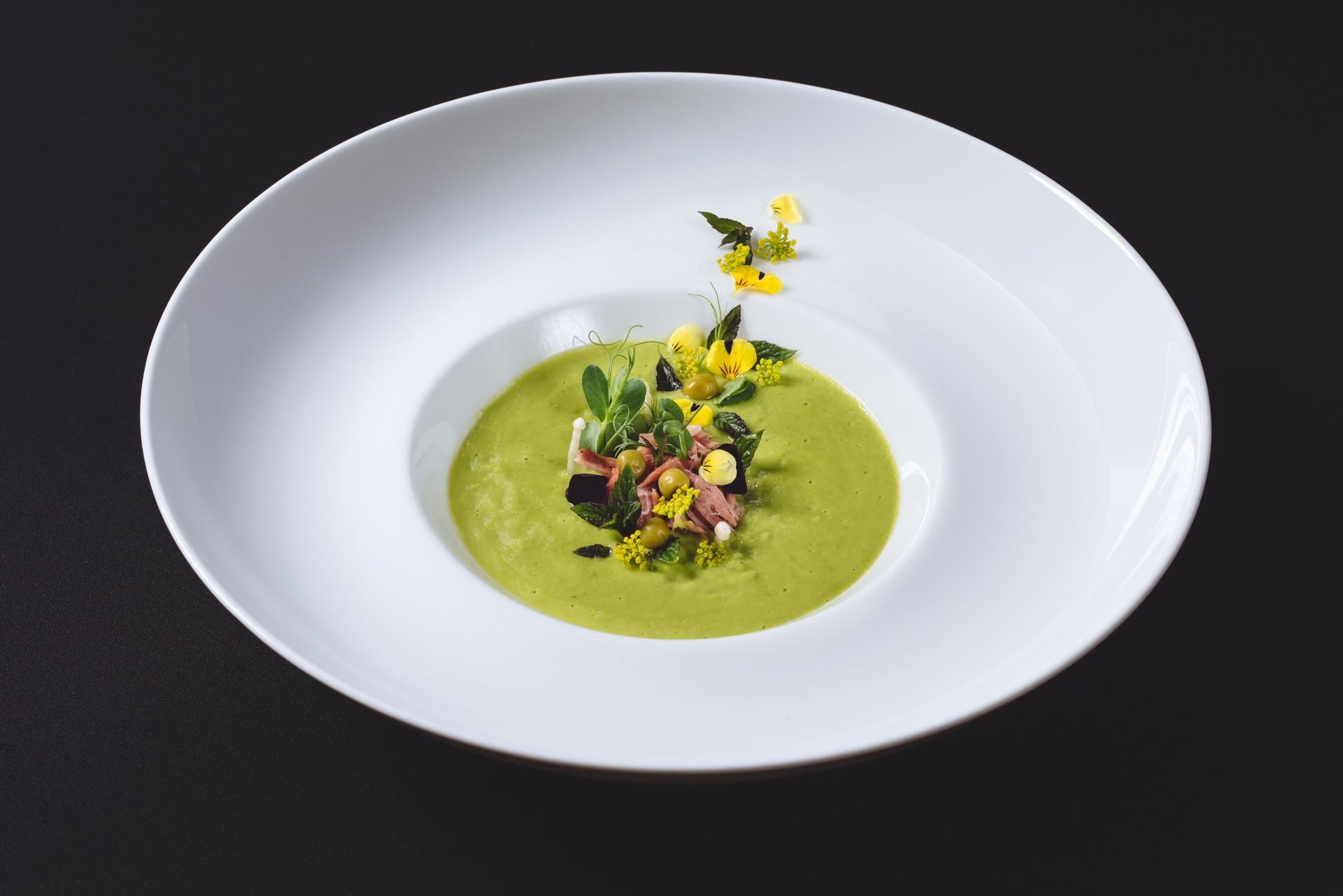 Gastuž - grahova zelena juha