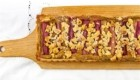 tarte rabarbare in pistacij