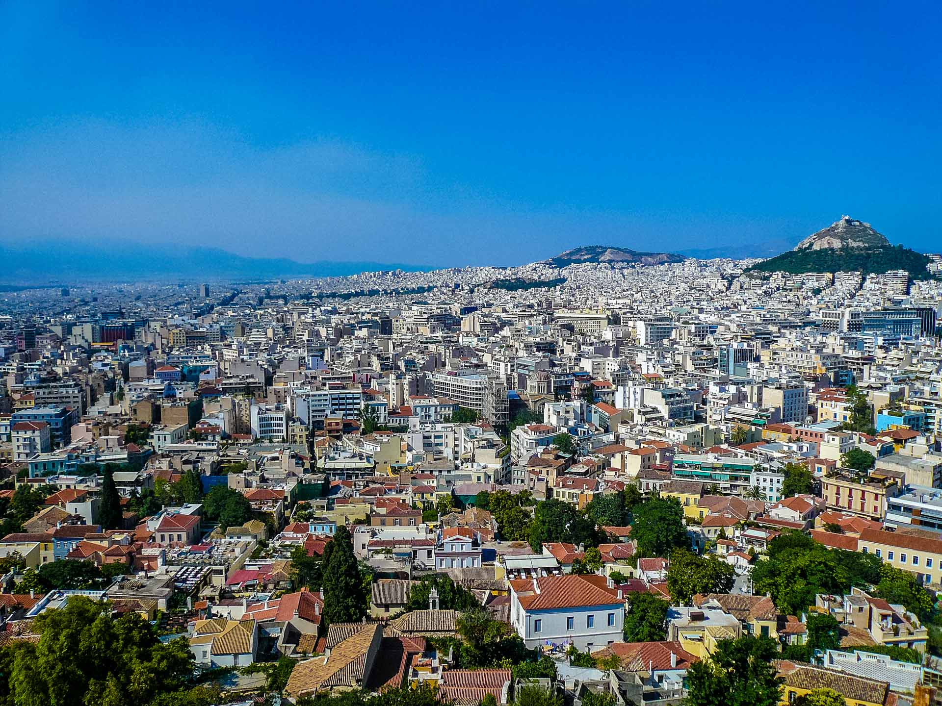 Atene - front