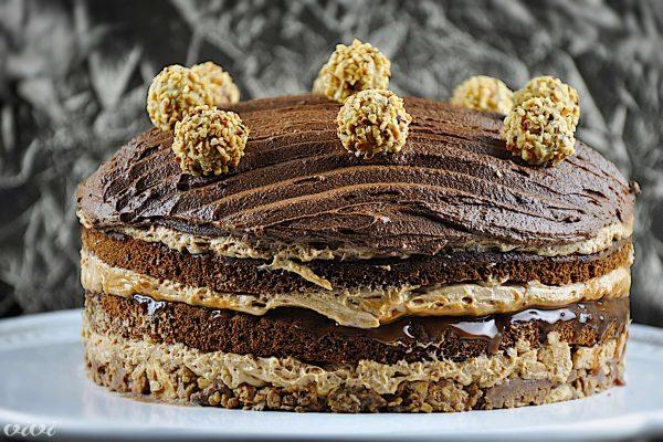 bozicna cokoladna karamela nougat torta vivi 33