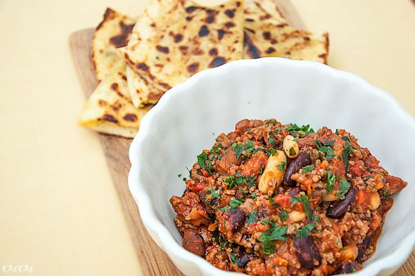 chili con carne in quesadillas 44