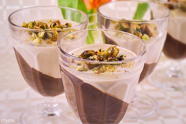 cokoladna krema in kavna panakota3