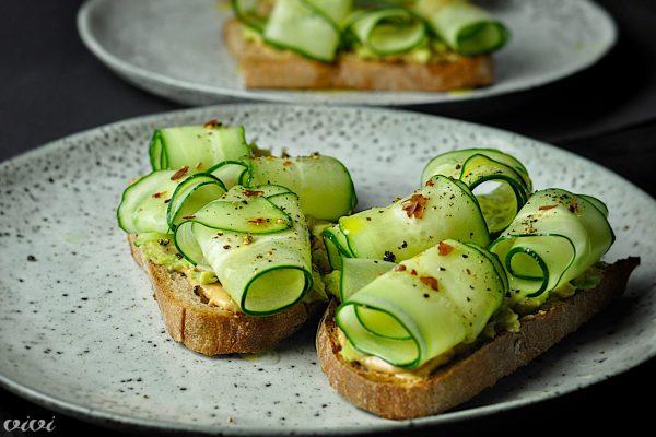sendvic arasidovo maslo avokado kumara6