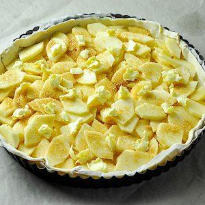 bretonski jabolcni tarte