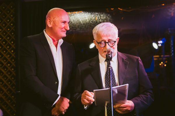 Slavnostni govorec večera je bil odvetnik Peter Čeferin. foto Marko Delbello Ocepek