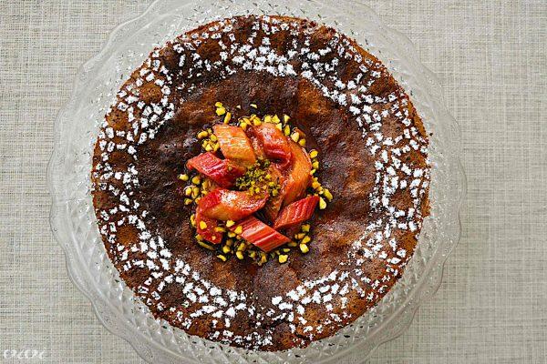 caprese torta in rabarbarin kompot2