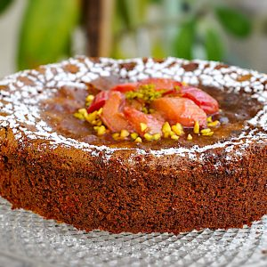 caprese torta in rabarbarin kompot4