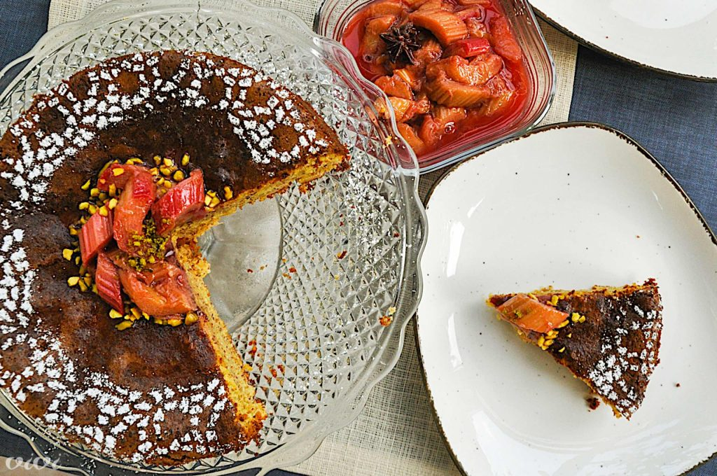 caprese torta in rabarbarin kompot5