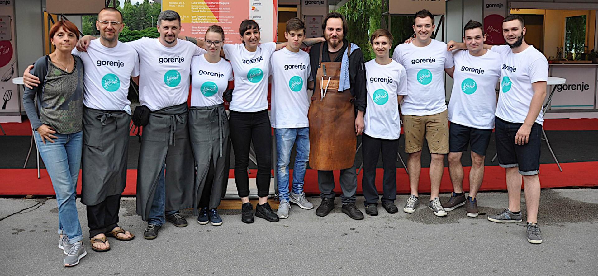 Sladolent 2017 - Krištof in Mak ekipe
