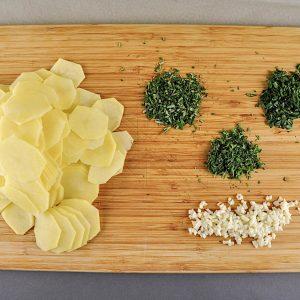 krompirjev gratin z zelisci 3