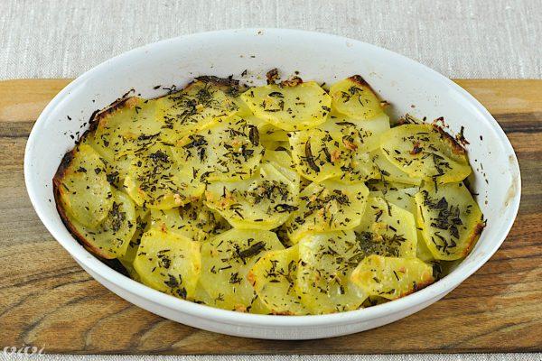 Provansalski krompirjev gratin