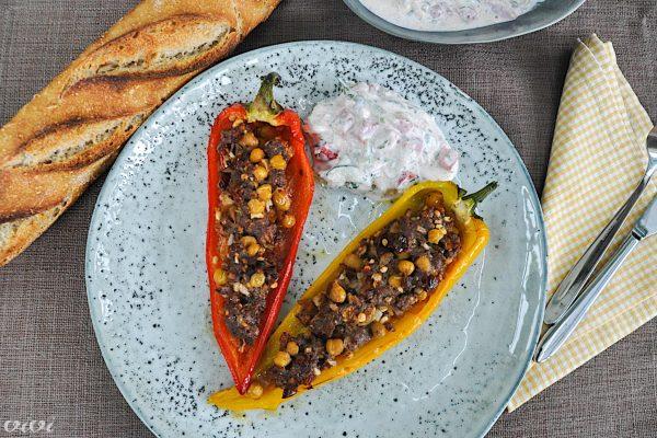 paprike polnjene z jagnjetino 3