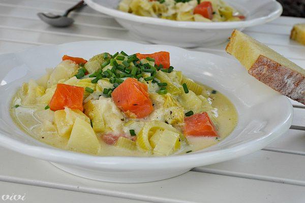 porova juha s krompirjem in postrvjo2