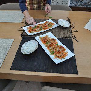 tajski piščančji cmočki priprava