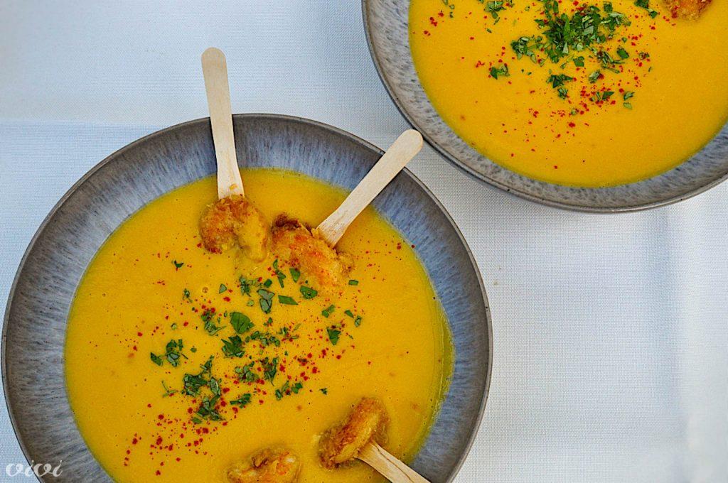 juha sladkega krompirja in panko kozice4