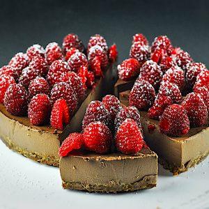 cokoladna panakota z malinami4