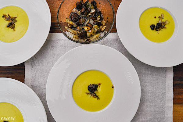 juha iz zelene kostanj in belgijski radič3