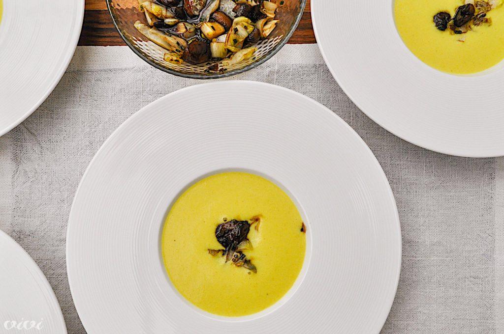 juha iz zelene kostanj in belgijski radič4