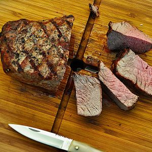 steak v kosu žar