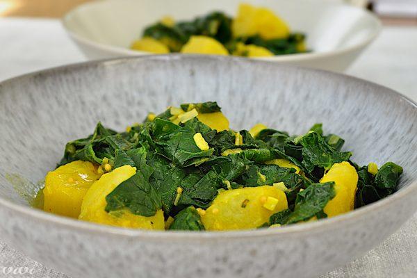 spinaca in krompir po indijsko2