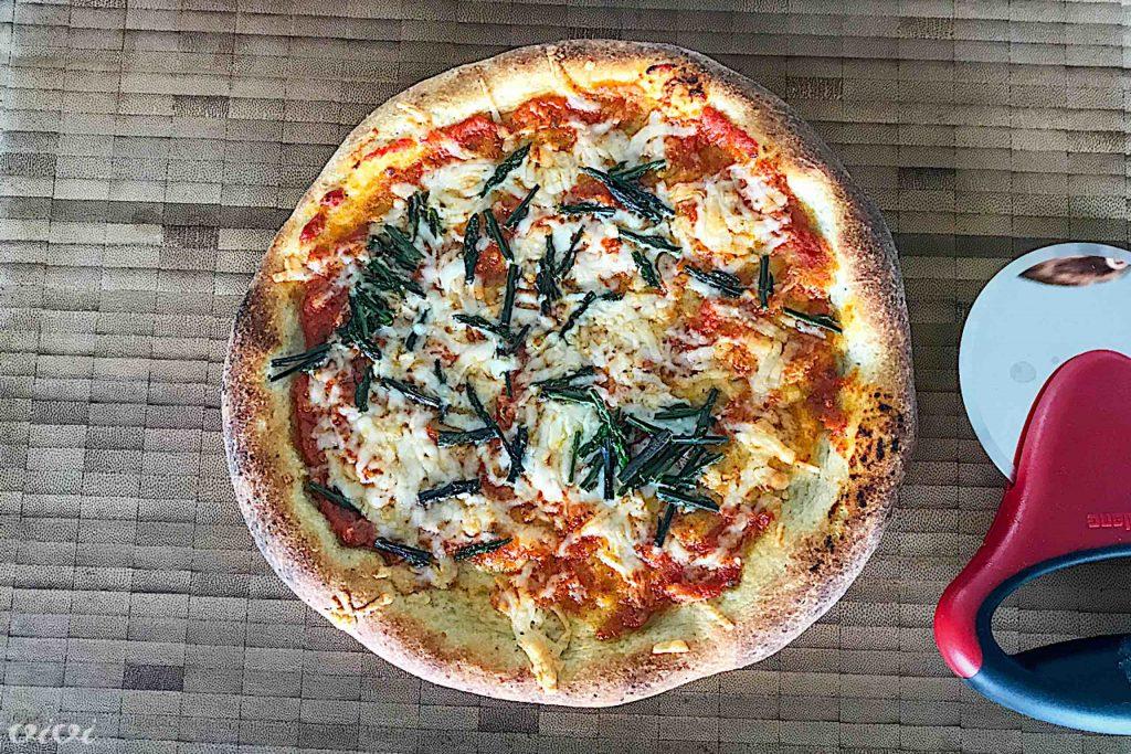 pizza šparuge