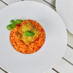 morska žaba v tempuri riževa pašta7