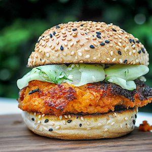 vege burger čičerka kumare3