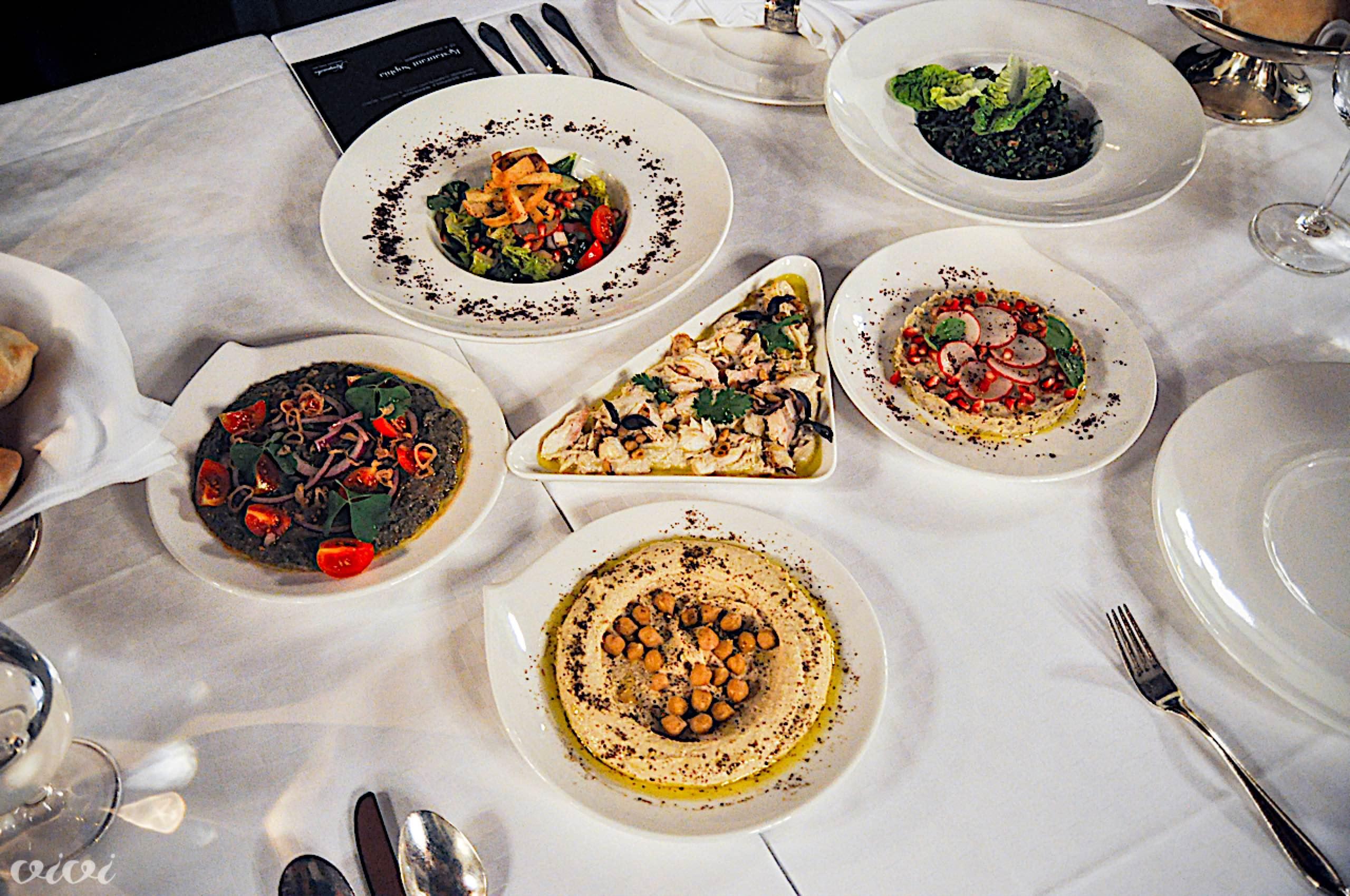 kempinski libanonska večerja hladne mezze3