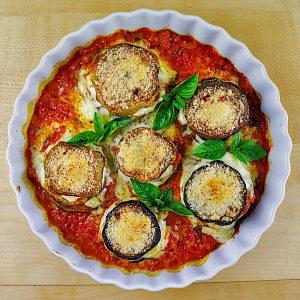 okrogli jajčevci parmigiana