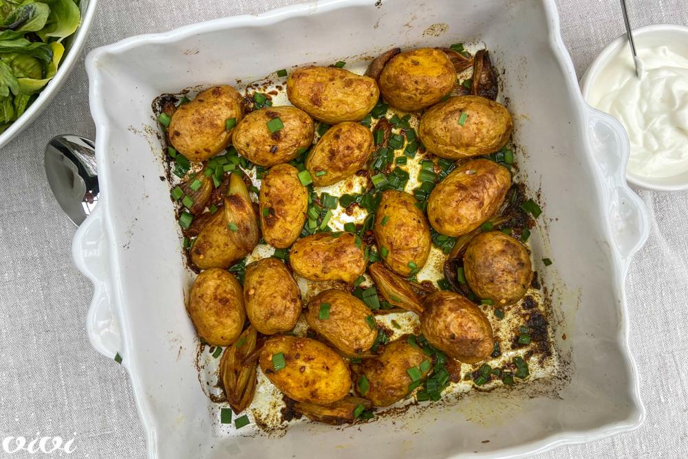 pečen mladi krompir s kurkumo2