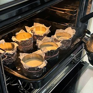 banoffee tortica priprava vodna kopel v pečici