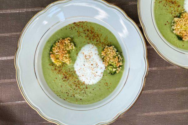 brokoli juha in zakuha z mandlji2
