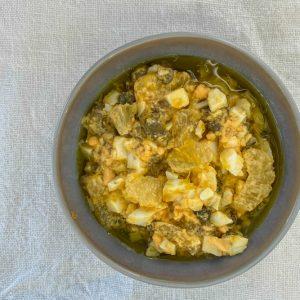 jajčna omaka z limono in kaprami k ribi na žaru3