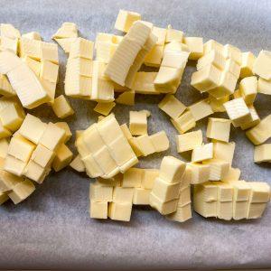 quiche krhko testo maslo priprava1