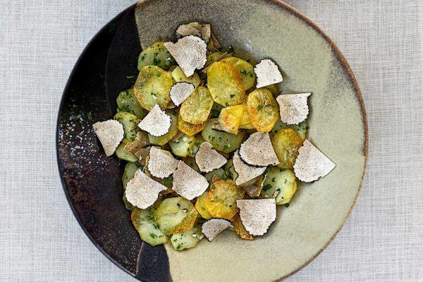 krompir sarladaises s tartufi