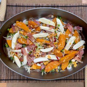bučin praženec z jurčki sirom slanino2