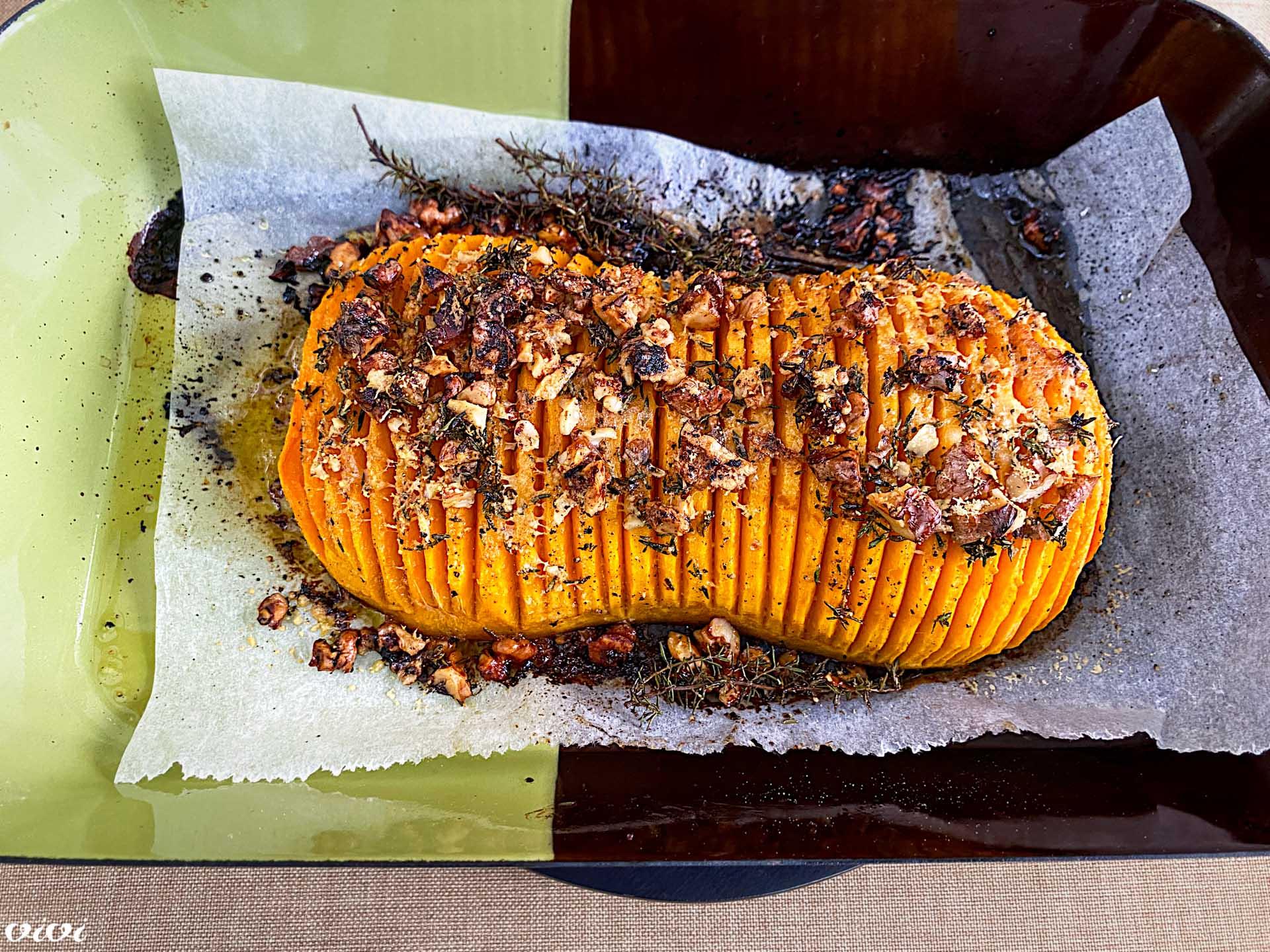 pečena butternut buča z orehi5