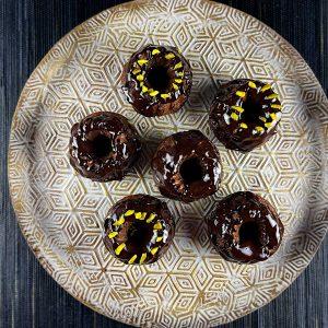 čokoladni šarklji brez moke