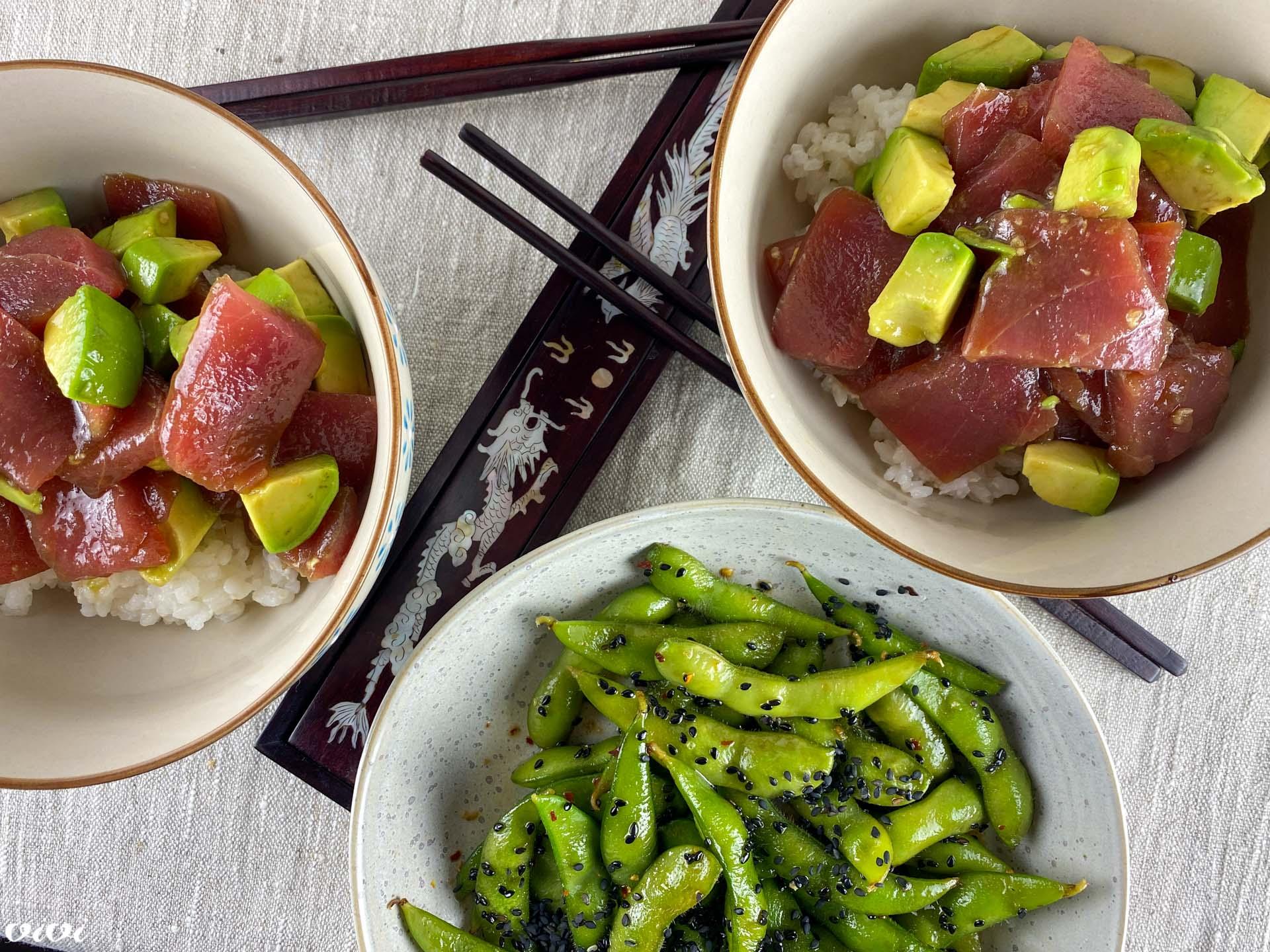 tuna avokado riž chirashi3