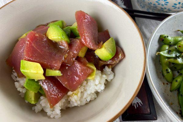 tuna avokado riž chirashi5