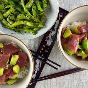 tuna avokado riž chirashi6