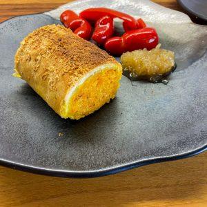 štrudelj sladki krompir in buča jalapeno čebulna marmelada2