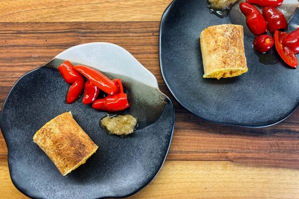 štrudelj sladki krompir in buča jalapeno čebulna marmelada6