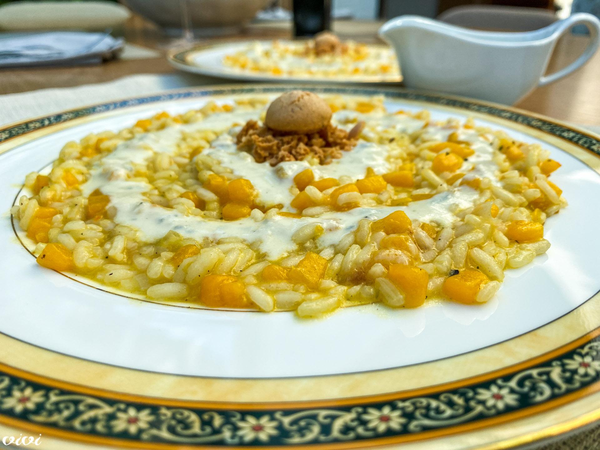 rižota z bučo amaretti sirova omaka6