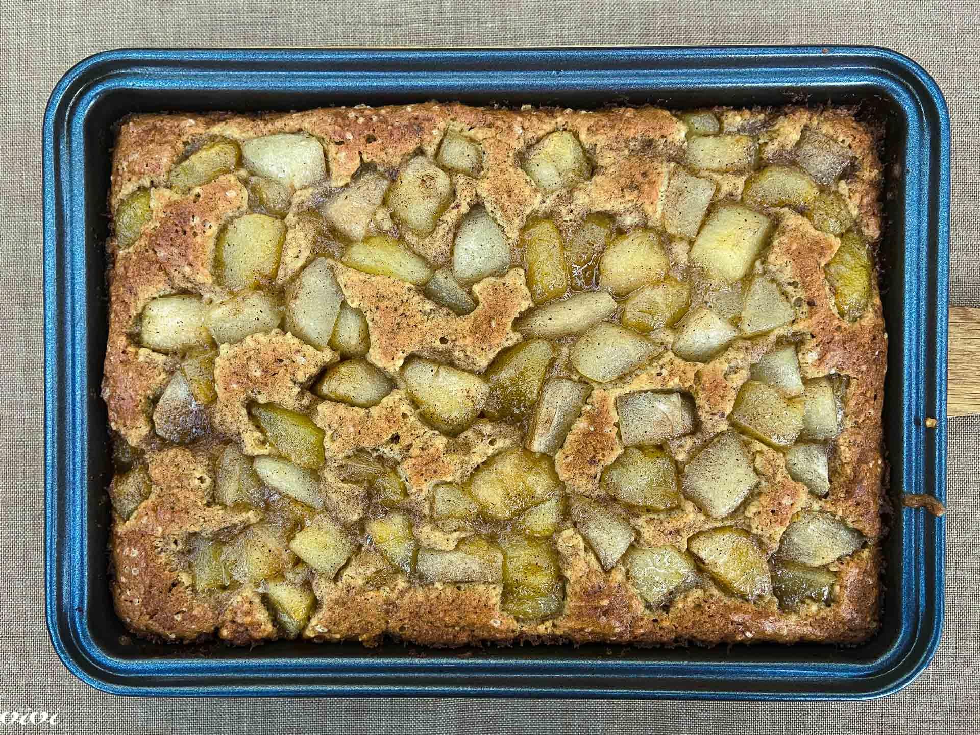 hruškovo pecivo z javorjevim sirupom11