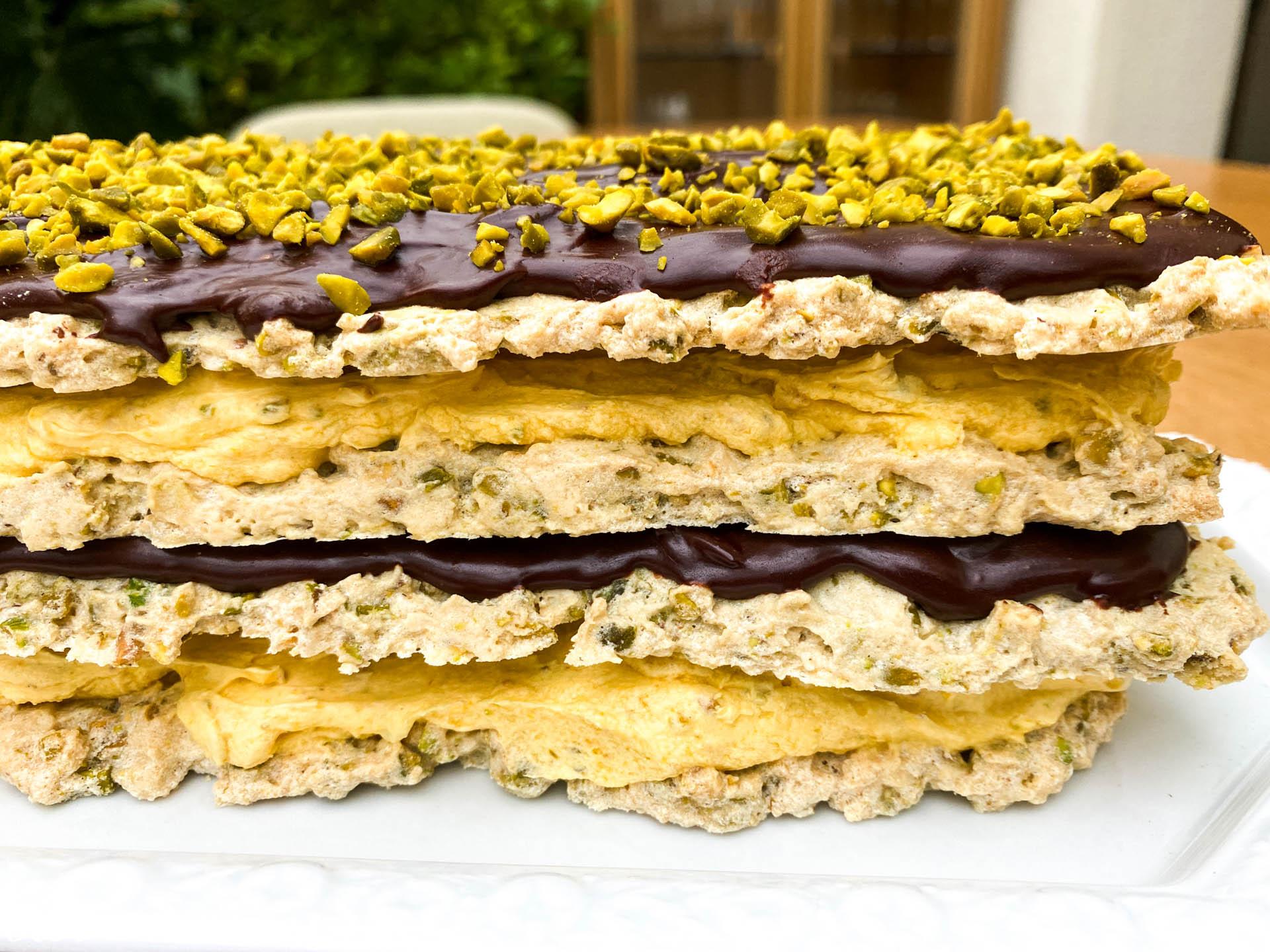 marjolaine torta2