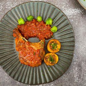 svinjski kotleti s papriko in paradižnikom035