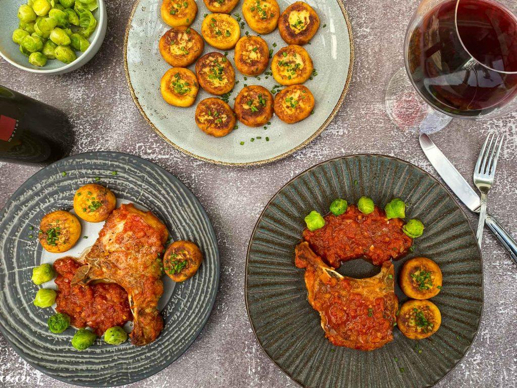 svinjski kotleti s papriko in paradižnikom042