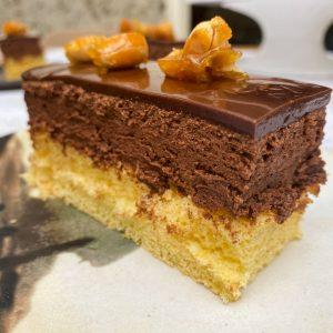 čokoladno karamelne rezine z arašidi8