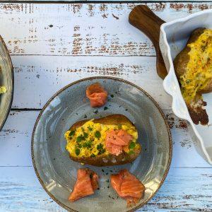polnjen krompir z jajcem in sirom016